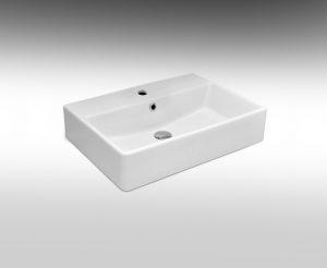 כיור אמבטיה מונח מרובע